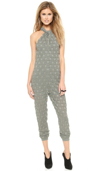 M Missoni Metallic Bubble Stitch Jumpsuit