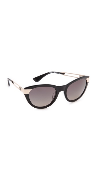 M Missoni Cat Eye Stripe Sunglasses