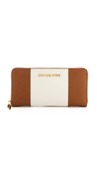 MICHAEL Michael Kors Jet Set Travel ZA Continental Wallet