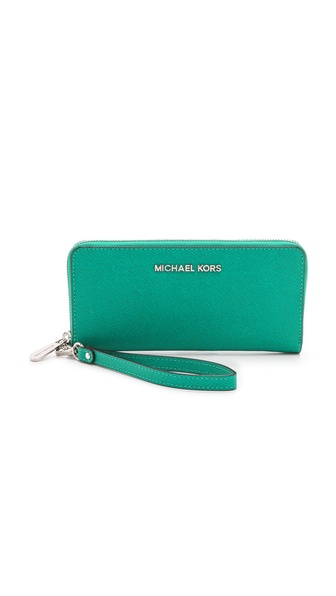 MICHAEL Michael Kors Jet Set Continental Tech Wallet