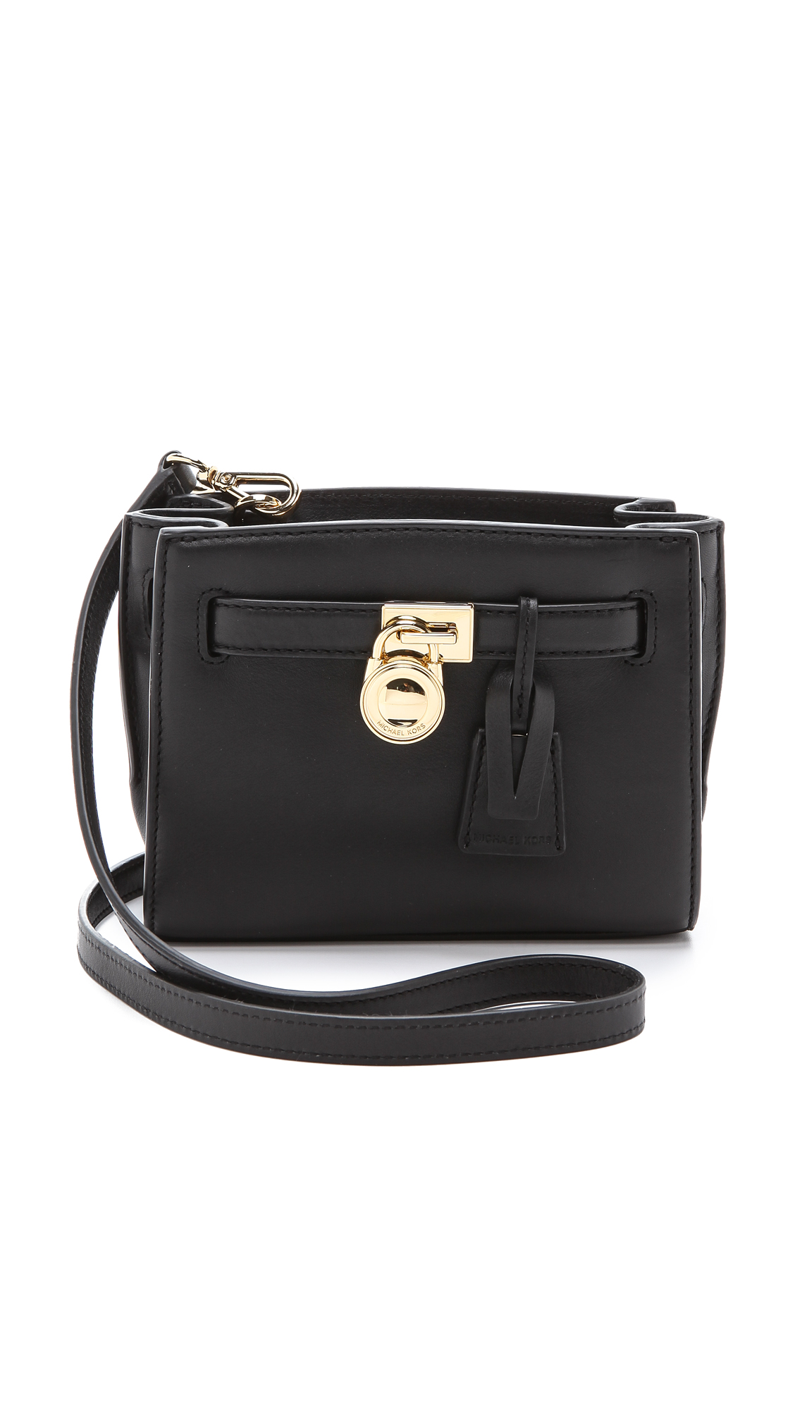 Buy michael kors Hamilton Small Messenger Bag (black) 9282061 for ... 613e561572819