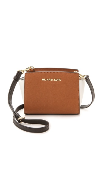 MICHAEL Michael Kors Colorblock Selma Mini Messenger Bag