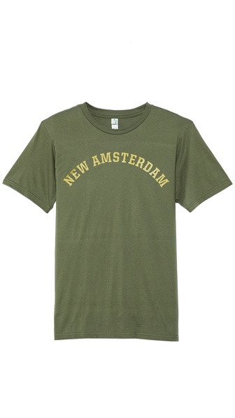 Mark McNairy New Amsterdam New Amsterdam T-Shirt