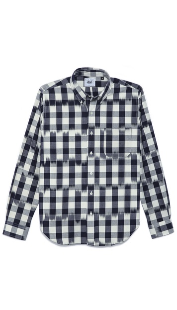 Mark McNairy New Amsterdam Long Sleeve Collar Shirt