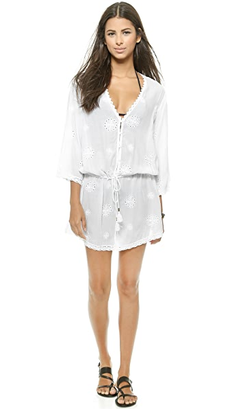 Melissa Odabash Melissa Odabash Cosima Cover Up Dress (White)