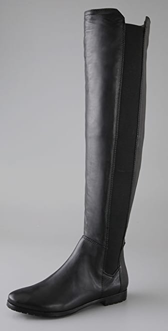 Modern Vintage Shoes Bernadette Over the Knee Boots