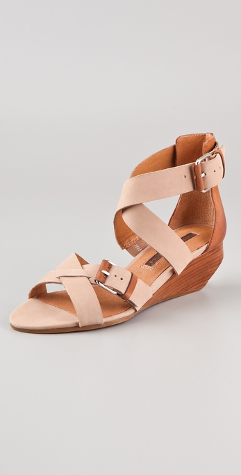 Modern Vintage Shoes Lorisa Wedge Sandals