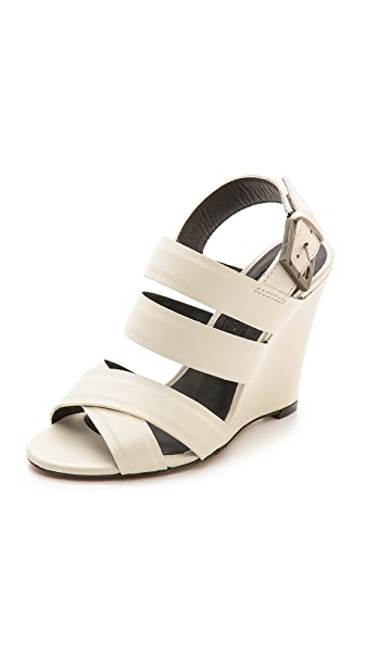 Modern Vintage Shoes Robin Wedge Sandals
