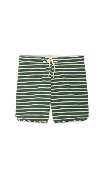 Mollusk Cutout Stripe Trunks