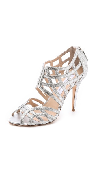 Monique Lhuillier Cutout Sandals