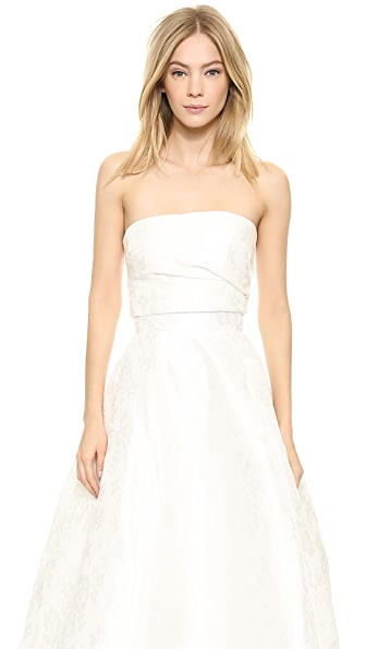 Top Top Emmy Bandeau Top (White)