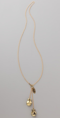 Monserat De Lucca Boxing Gloves Necklace at Shopbop.com