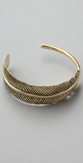 Monserat De Lucca Feather Cuff
