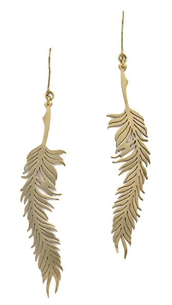 Monserat De Lucca Feather Earrings