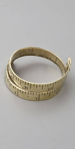 Monserat De Lucca Measuring Tape Bracelet from shopbop.com