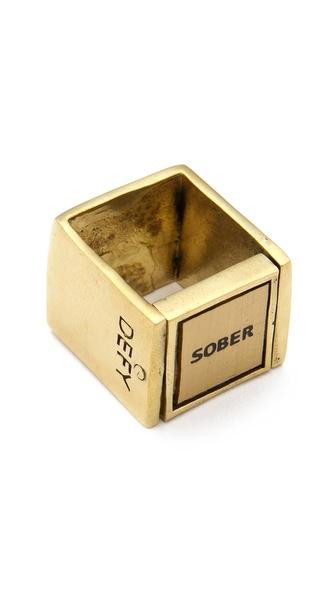 Monserat De Lucca Drunk Sober Ring