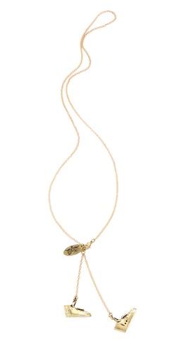 Monserat De Lucca Sneaker Necklace