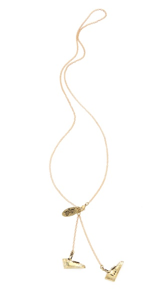 Monserat De Lucca Sneaker Necklace