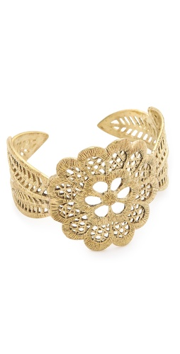 Monserat De Lucca Detailed Cuff Bracelet