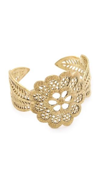 Monserat De Lucca Detailed Cuff Bracelet