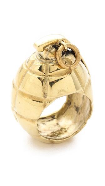 Monserat De Lucca Mills Grenade Ring