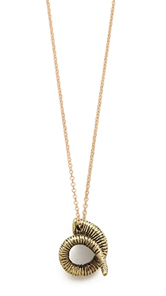Monserat De Lucca Rams Head Necklace