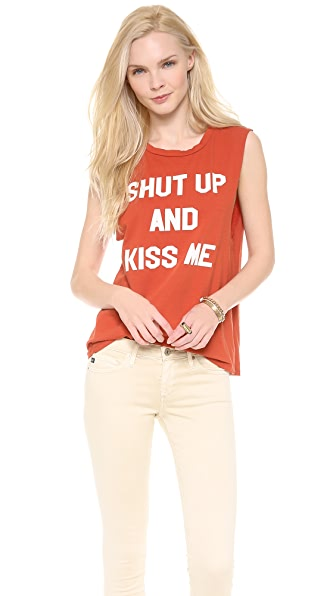 Morning Warrior Shut Up & Kiss Me! Tank