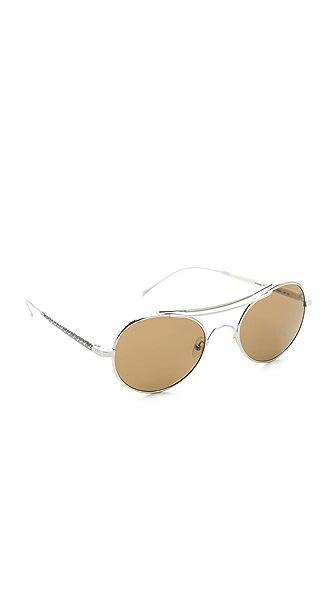 Mosley Tribes Eyewear Stussy Aviator Sunglasses