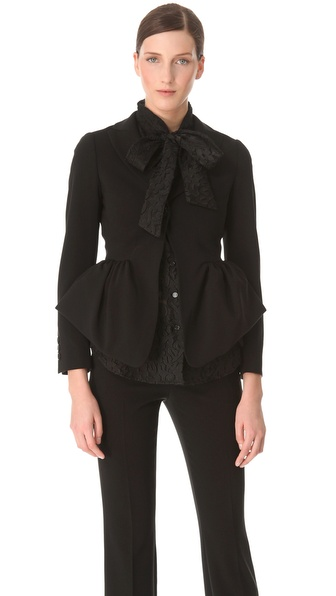 Moschino Peplum Jacket