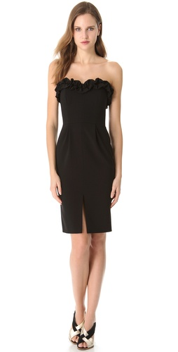 Moschino Strapless Dress at Shopbop.com