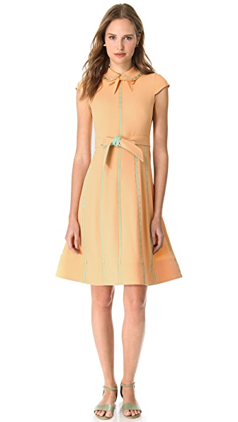 Moschino Short Sleeve Cady Dress
