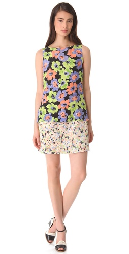 Moschino Sleeveless Floral Dress at Shopbop.com