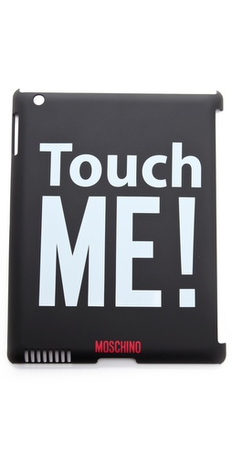 Moschino Touch Me iPad Case at Shopbop.com
