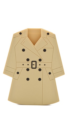 Moschino Trench Coat iPhone Case