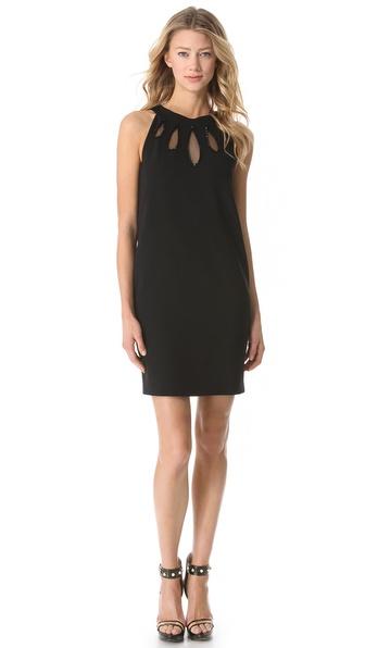 Moschino Teardrop Cutout Dress