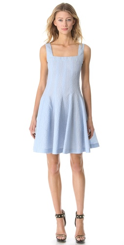 Moschino Flower Jacquard Dress at Shopbop.com