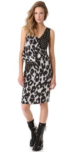 Moschino Cheap and Chic Sleeveless Dress