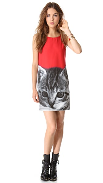 Moschino Cheap and Chic Kitty Dress