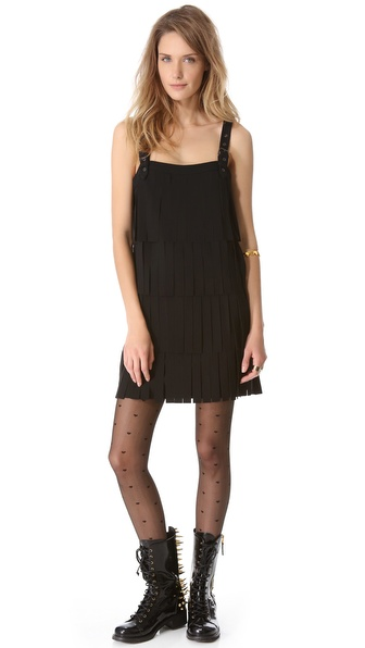 Moschino Cheap and Chic Fringe Dress