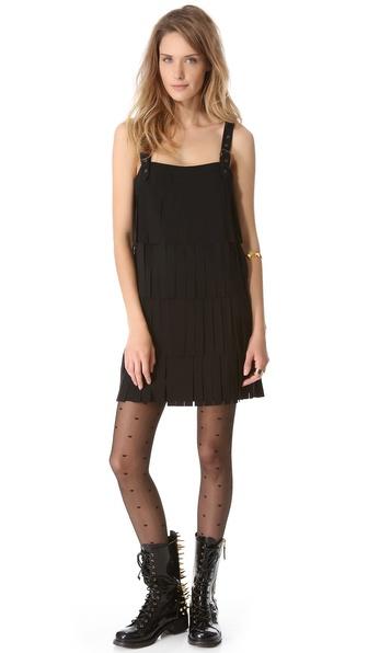 Moschino Cheap and Chic Fringe Dress