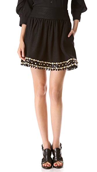 Moschino Embellished Skirt