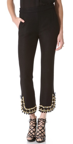 Moschino Embellished Pants at Shopbop / East Dane