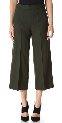 Moschino Cropped Wide Leg Pants at Shopbop / East Dane