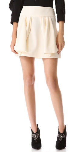 Moschino Crepe Skirt at Shopbop / East Dane