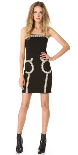 Moschino Embellished Strapless Dress at Shopbop / East Dane