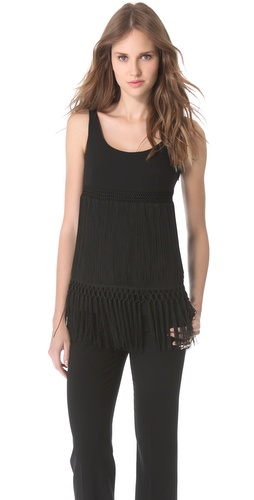 Moschino Sleeveless Flapper Top at Shopbop / East Dane