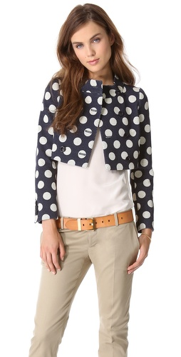 Moschino Polka Dot Jacket at Shopbop / East Dane