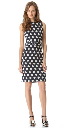 Moschino Sleeveless Polka Dot Dress at Shopbop / East Dane
