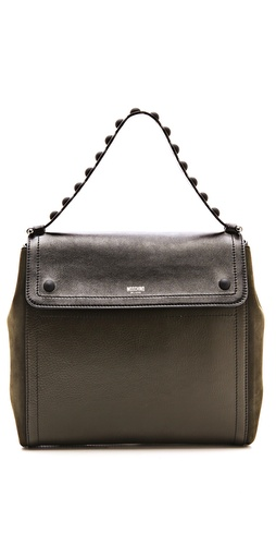 Moschino Leather Shoulder Bag at Shopbop / East Dane