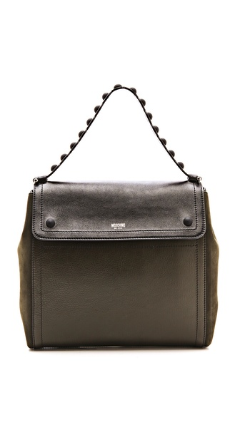 Moschino Leather Shoulder Bag